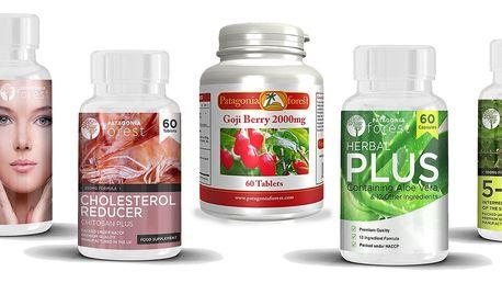 Přírodní tabletky pro zdraví, krásu i dobrou náladu - Kyselina hyaluronová, Goji a jiné