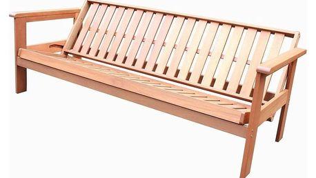 Tradgard FUTON 57129 Zahradní rozkládací lavice