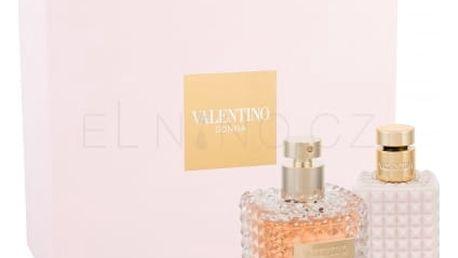 Valentino Valentino Donna dárková kazeta pro ženy parfémovaná voda 100 ml + tělové mléko 100 ml