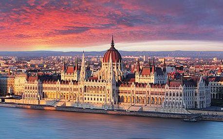 Maďarsko - Budapešť autobusem na 1 den