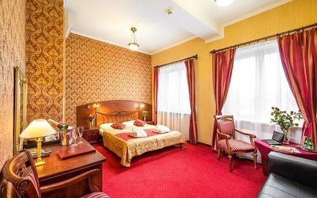 Relaxační pobyt u Krakova v Hotelu Galicja *** s polopenzí, saunou a kulečníkem