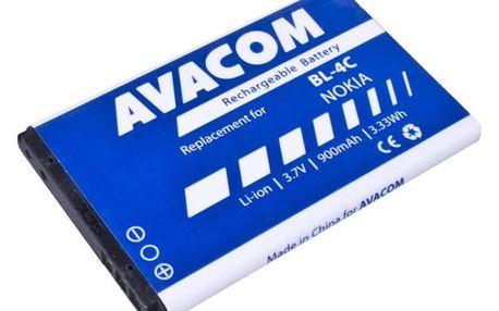 Baterie Avacom pro Nokia 6300, Li-Ion 900mAh (náhrada BL-4C) (GSNO-BL4C-S900A)