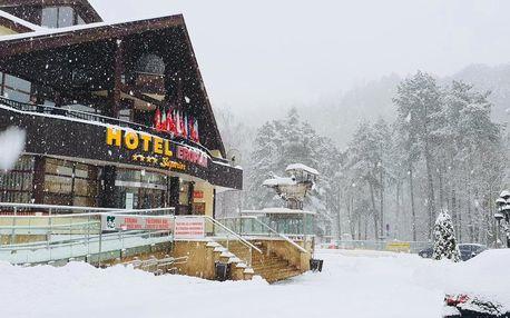 Hotel Eroplán v Beskydech s polopenzí a wellness