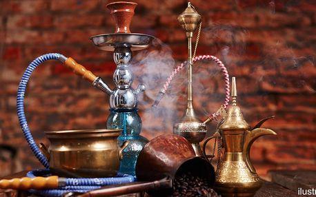 Dýchánek v čajovně Nefertiti: dýmka a nápoj