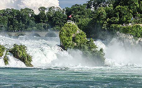Švýcarsko - Rýnské vodopády - Curych 2019. 3denní zájezd pro 1 osobu do Švýcarska.