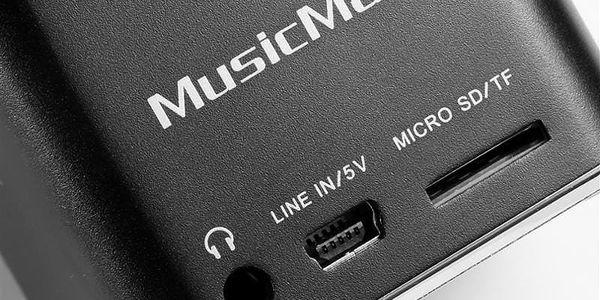 Přenosný reproduktor Technaxx Mini MusicMan černý (3527)3