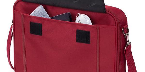 Brašna na notebook DICOTA Multi BASE 14 - 15.6 červená (D30920)4