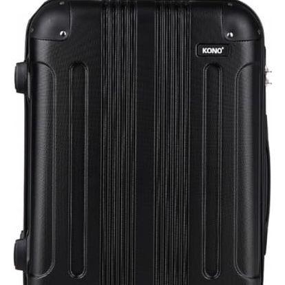 Dámský velký černý kufr Orion 1777