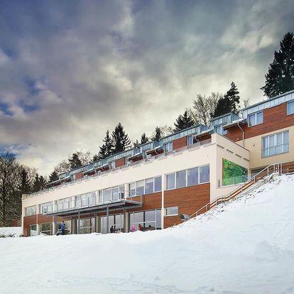 Ubytování přímo na Monínci s lyžováním po celou zimní sezónu