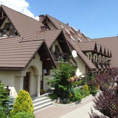 Polské Tatry v Penzionu Pod Tatrami s polopenzí, saunou a slevou do termálů