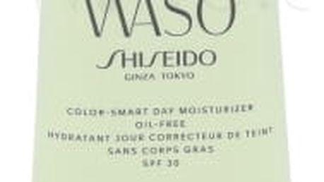 Shiseido Waso Color-Smart SPF30 50 ml denní hydratační krém pro sjednocení pleti bez obsahu oleje pro ženy