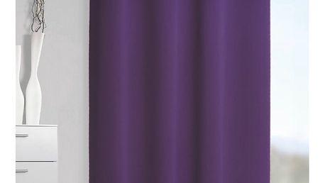 Albani Zatemňovací závěs Mia fialová, 140 x 245 cm