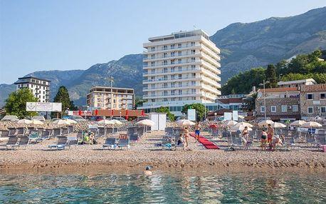 Černá Hora, Barská riviéra, letecky na 8 dní snídaně