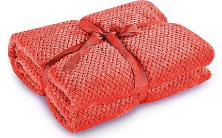 DecoKing Deka Henry červená, 150 x 200 cm