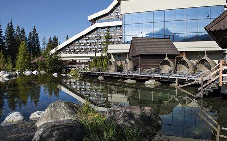 Wellness pobyt Podbanské Grand Hotel Permon - all inclusive, AQUA & KIDS' & SAUNA Paradise