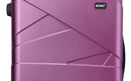 Dámský velký fialový kufr Rotta 1772
