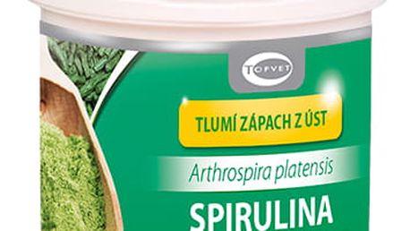 Topvet Bylinný extrakt Spirulina, 60 tobolek
