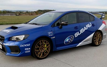 Jízda v supersportu Subaru Impreza WRX STI