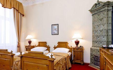 Hotel Heluan**** v Karlových Varech s možností procedur