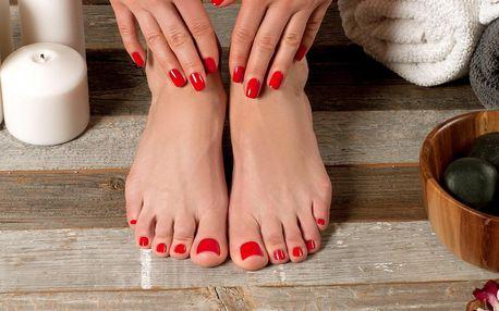 50% sleva na úpravu nehtů na rukou i nohou + Shellac nebo Gel lak