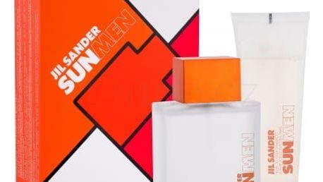 Jil Sander Sun For Men dárková kazeta pro muže toaletní voda 75 ml + sprchový gel 75 ml