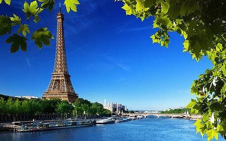 Francie - Paříž autobusem na 4 dny, snídaně v ceně