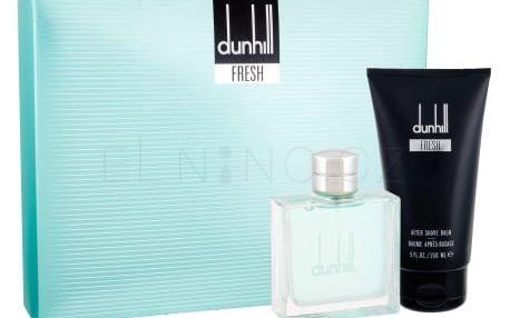Dunhill Fresh dárková kazeta pro muže toaletní voda 100 ml + balzám po holení 150 ml