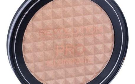 Makeup Revolution London Pro Illuminate 15 g rozjasňující pudr pro ženy