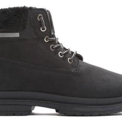 Dámské černé kotníkové boty Vinnie 009