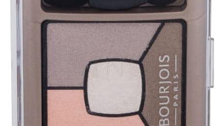 BOURJOIS Paris Smoky Stories Quad Eyeshadow Palette 3,2 g oční stín pro ženy 12 Sau-Mondaine