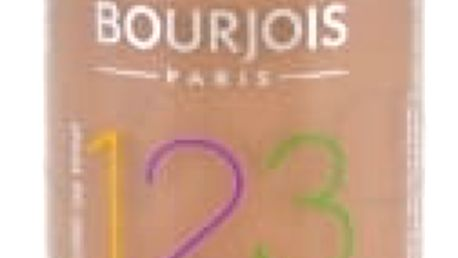 BOURJOIS Paris 123 Perfect 30 ml dlouhotrvající make-up pro ženy 57 Light Bronze