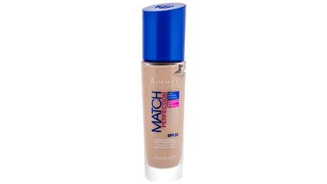 Rimmel London Match Perfection SPF20 30 ml tekutý make-up pro ženy 010 Light Porcelain