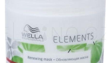 Wella Elements 150 ml intenzivní maska pro suché a poškozené vlasy pro ženy