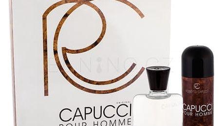 Roberto Capucci Capucci Pour Homme dárková kazeta pro muže voda po holení 100 ml + deodorant 150 ml