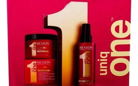 Revlon Professional Uniq One bezoplachová péče ve spreji pro ženy neoplachovací maska na vlasy 150 ml + maska na vlasy Superior 300 ml
