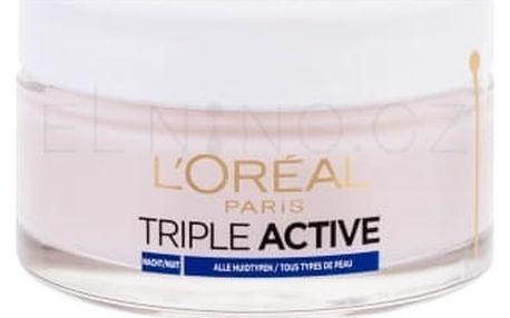 L´Oréal Paris Triple Active 50 ml noční hydratační pleťový krém pro ženy