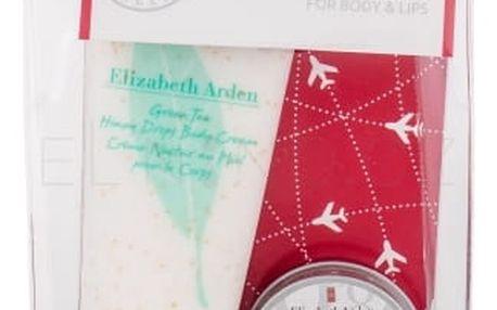 Elizabeth Arden Green Tea Honey Drops dárková kazeta pro ženy tělový krém 100 ml + balzám na rty Eight Hour Cream 13 ml