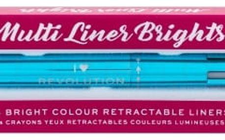 Makeup Revolution London I Heart Revolution Multi Liner Brights 0,1 g čtyřbarevná tužka na oči pro ženy
