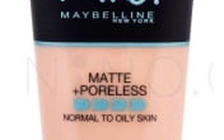 Maybelline Fit Me! Matte + Poreless 30 ml matující makeup pro ženy 102 Fair Ivory