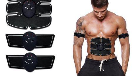 Elektronický posilovač svalů - Six pack EMS