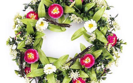 Věnec jarní Sedmikrásky, 25 cm