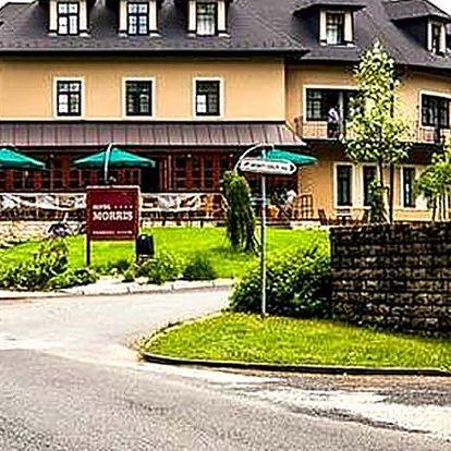 Relaxační pobyt pro dva v Golf hotelu Morris**** včetně polopenze, 10ti procedur a vířivky.