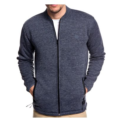 Mikina Quiksilver Kurow Sherpa Bomber blue nights heather L