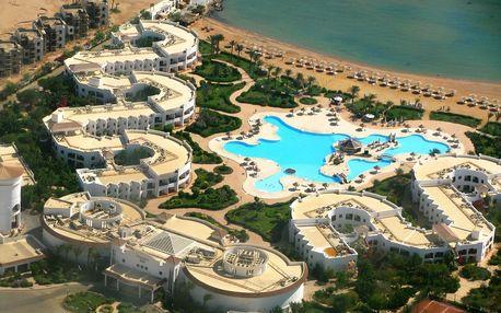 Egypt - Hurghada na 7 až 11 dní, all inclusive s dopravou letecky z Prahy, přímo na pláži
