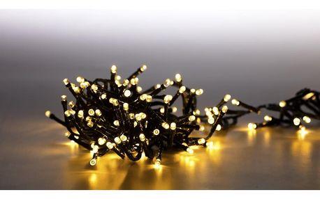 Marimex Světelný řetěz 200 LED dvojitý - teplá bílá - 18000078