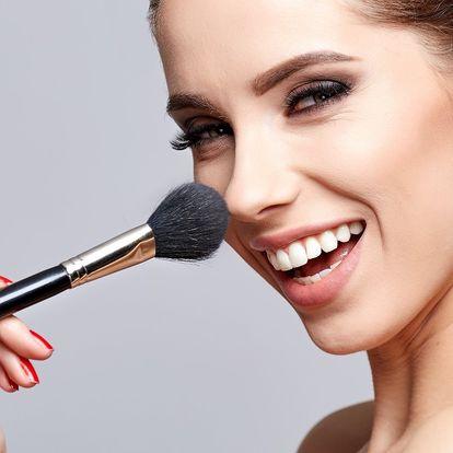 Kurz líčení a kosmetické poradenství pro 1 či 2 osoby