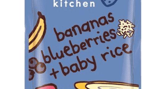 7x ELLA´S Kitchen Dětská rýže – Banán a borůvky 120g