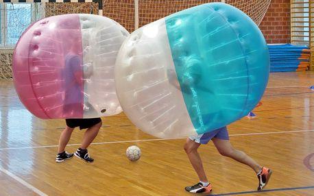 """""""Fotbalový"""" Bubbleball v tělocvičně pro 6–8 hráčů"""