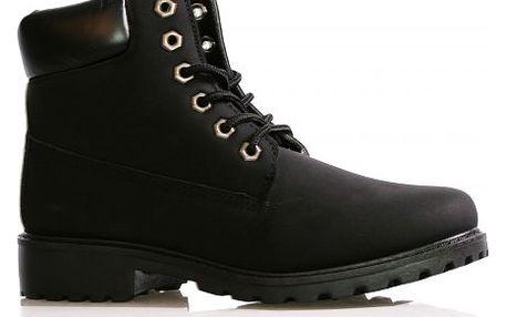 Dámské černé kotníkové boty Ellie 388