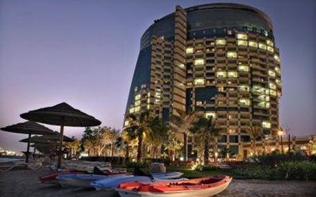 Spojené arabské emiráty - Abu Dhabi na 4 dny, snídaně s dopravou letecky z Prahy, přímo na pláži